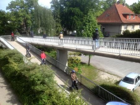 Segway - Tour durch Gütersloh, Foto: TK Moving Event