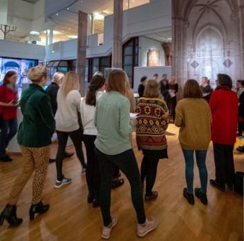 Zum letzten Mal: Dialoge im Museum – Alles (nur) Schein? Erfahrungen in der Kunst.Foto: ©Diözesanmuseum Paderborn