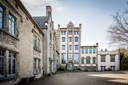 Seit 1990 ist die Freie Waldorfschule Lippe-Detmold e.V. im denkmalgeschützten Gebäude der alten Falkenkrug-Brauerei beheimatet.Waldorfschule.Foto: Frank Friedrichs, Detmold