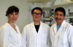 Bilden das Projektteam an der FH Bielefeld (v.l.): Dr. Désirée Jakobs-Schönwandt, Doktorand Yi Qu und Prof. Dr. Anant Patel. Foto: FH Bielefeld