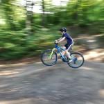 Auf und ab mit dem Mountainbike