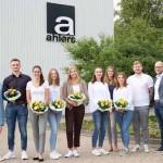Start für sechs neue Azubis bei der Ahlers AG