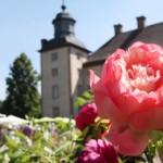 Gartenidylle vor dem Weltkulturerbe