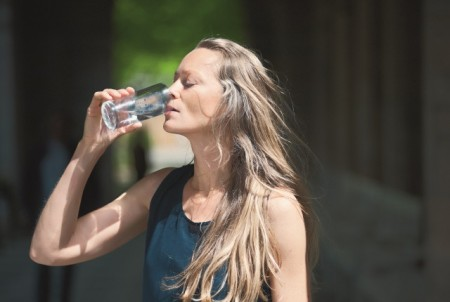 Heilwasser trinken Bayer. Staatsbad Bad Kissingen GmbH. Foto: Heji Shin
