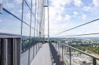 Panoramablick vom neuen Olivia Star auf die Dreistadt und die Ostsee. Foto: Olivia Star