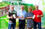 Foto: v. l. Mathias Vetter, Wilhelm Stute, Rosi Aschenbrenner,Wolfgang Krenz (BRAUN media, (Samantha Savell)
