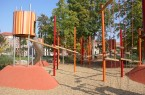 Spielplatz Colleggarten Nürnberg, Foto:  Silvia Held, Landschaftsarchitekti
