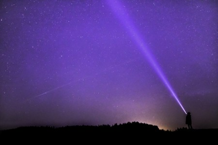 Nachthimmel Szenario, Foto: Pixabay