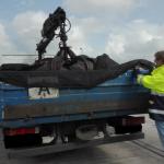 Abfalltransporte im Fokus: Großeinsatz auf der A 2