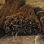 Vogelfutterhäuschen flechten Workshop im LWL-Freilichtmuseum Detmold