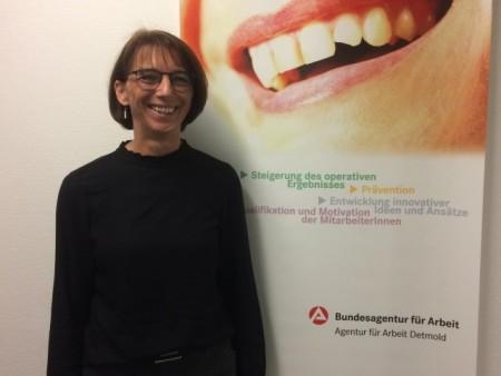 Andrea Behrendt, Foto: Bundesagentur f. Arbeit Detmold