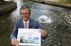 Bürgermeister Michael Dreier schlug jetzt vor, dass die Paderborner Stadtverwaltung bis 2035 das Ziel der Kohlendioxid-Neutralität erreichen möchte. Foto: Stadt Paderborn /Jens Reinhardt