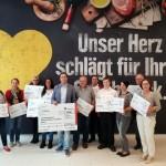 EDEKA im Werre – Park  spendet 1.000 Euro für regionale Vereine und Institutionen