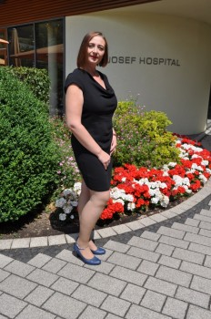 Natalie Heck hat 50 Kilo abgenommen. Das gelang ihr nach einer operativen Behandlung. Zwischen den beiden Fotos liegen acht Monate. Ihr Ziel ist, noch weitere 15 Kilo abzuspecken.