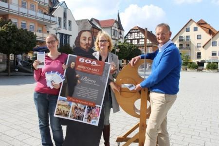 Moritzmarkt Ankündigung Verlosung, Foto: Stadt Büren