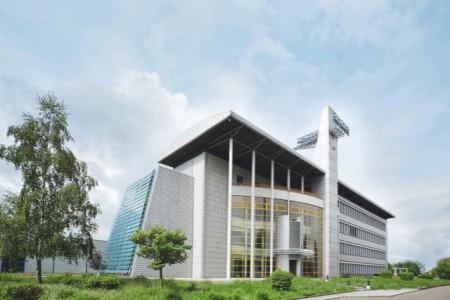 Die Unternehmenszentrale der Schüco Polymer Technologies KG in Weißenfels, Sachsen-Anhalt.Foto: Schüco Polymer Technologies KG