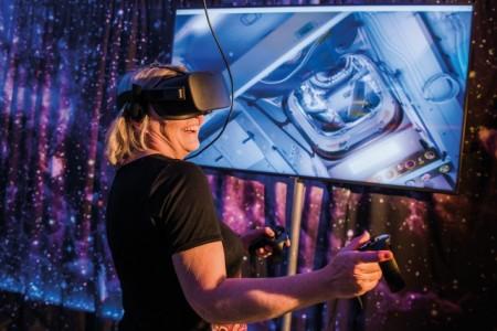 Virtuell durch die ISS fliegen, Foto: HNF