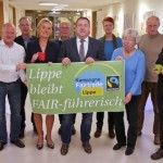 """Rezertifizierung erfolgreich: Der Kreis Lippe bleibt """"Fairtrade-Kreis"""""""
