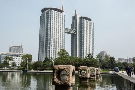 Changzhou, Innenstadt: Foto Stadt Minden, Trägerverein Partnerschaft Minden-Changzhou