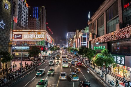 Changzhoue bei Nacht, Foto: © Stadt Minden/Trägerverein Partnerschaft Minden-Changzhou