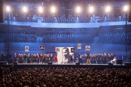 Chormusical Martin Luther King ins Gerry Weber Stadion nach Halle (Westf.) verlegt