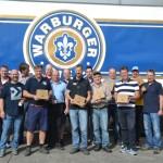 Bürgerbrauzunft Nieheim und Warburger Brauerei brauen Charity-Craft-Bier