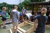 Mobile Skaterampe in Rodenbeck bauen.Foto: Stadt Minden