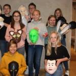 Mickey Mouse und Bugs Bunny im Weserrenaissance-Museum Schloss Brake