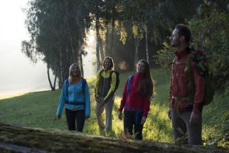 Mit dem neuen Natur-Navi planen Wanderer ihre Goldsteig-Touren bequem von daheim aus. Foto: © Andreas Hub