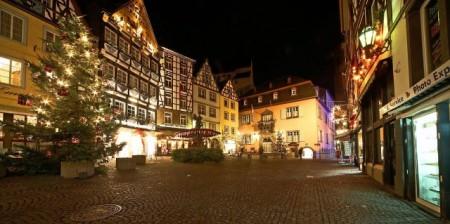 Weihnachtlicher Marktplatz in Cochem, Foto: Stadt Cochem