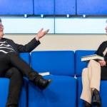 Frankfurter Buchmesse 2019: Das Blaue Sofa mit 40 Stunden Live-Programm