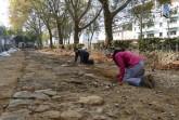 Die Stadtmauer wurde auf einer Länge von 100 Metern ausgegraben. Foto: LWL/N. Wolpert