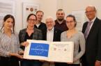 Albulena Shehu, Inga Rose, Thorsten Koßmann,  Paul Jödicke, Tillmann Schriener, Saskia Reinhardt und Rainer Heller. Foto: Stadt Detmold