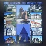 """Kalender 2020 """"Denkmal des Monats"""" der AG Historische Stadt- und Ortskerne wieder erhältlich"""