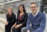 v. l. Prof. Dr. Beate Flath, Prof. Dr. Nancy Wünderlich und Prof. Dr. Dennis Kundisch von der Universität Paderborn wollen die Wirksamkeit und Einsatzmöglichkeiten von innovativen Preiskonzepten für Kulturbetriebe erforschen. Foto: Uni Paderborn