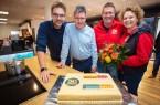Neueröffnung, Foto: Marcel Malz, Filialleiter Rainer Busekrus, Joachim Malz, Sylke Hopfe-Malz, Foto: EK