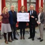 EDEKA Minden – Hannover spendet 7.500 Euro an die Bildungspartner