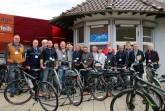 die Teilnehmerinnen und Teilnehmer der Vorbereisung zusammen mit Detmolds technischem Beigeordneten Thomas Lammering , Foto: Stadt Detmold