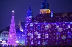 Weihnachtsstimmung am Warschauer Königsschloss. Foto: Polnisches Fremdenverkehrsamt/Mariusz Cieszewski