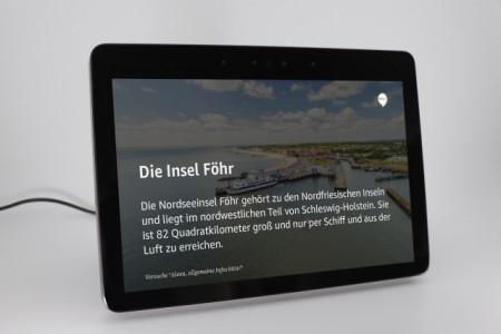 Alexa Skill der Insel Föhr, Foto © Föhr Tourismus GmbH/Levke Sönksen