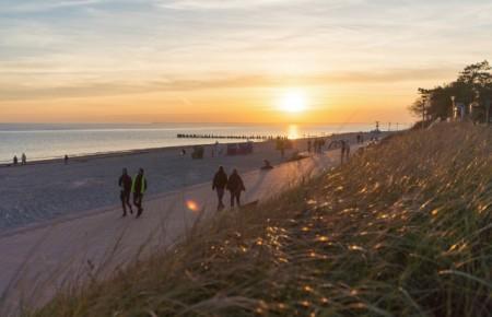 Sonnenuntergang auf der Insel Föhr, Foto: © Föhr Tourismus GmbH/Moritz Kertzscher