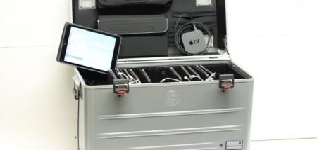 Der Einsatz von Tablets im Unterricht, Foto: Kreis Gütersloh
