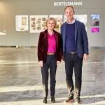 Foyer des Bertelsmann Corporate Centers erstrahlt in neuem Design