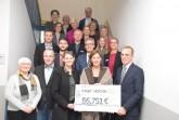 RP Pirscher (2vl), Min Gebauer und BM Fischer mit Verwaltungsmitarbeitern und SchulleiterInnen, Foto: Stadt Höxter