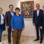 Ausstellung von Woldemar Winkler im Klinikum Gütersloh
