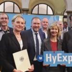 Mit Wasserstoff mobil: Region gewinnt Bundeswettbewerb