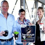 """Regionales Pfandbechersystem """"backCUP"""" in rund 100 Verkaufsstellen"""