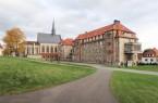 Das ehemalige Neue Dominikanerkloster in Warburg, Ansicht der Hofseite. Foto: LWL/Heuter