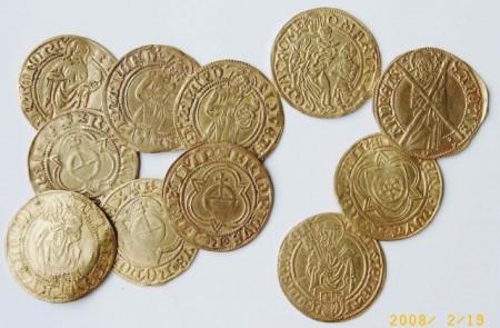 Goldgulden des Mindener Goldschatzes. © Mindener Museum