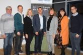 In  den  Räumlichkeiten  des  lokalen  Energieversorger  TWO  fand  die  Mitgliederversammlung  des  Fördervereins  der  Stadt  HalleWestfalen  statt  und  der  Vorstand  war  vertreten  mit  (von  links):  Thomas  Kolmbuber  (Weidich),  Andy  Marten (Landhotel Jäckel),  Heidi Kirch (Kreissparkasse), Johannes Wiese (TWO),  Bürgermeisterin    Anne    Rodenbrock-Wesselmann    (Sprecherin),    Ina    Bolken  (Tourismusverband)  und  Alexander  Hardieck  (Gerry  Weber  Management  &  Event). © Förderverein